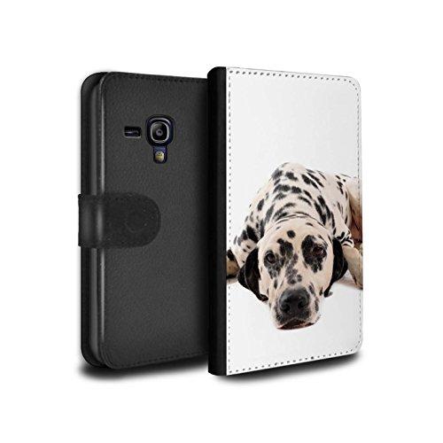 �lle/Case/Tasche/Cover für Samsung Galaxy S3 Mini/Dalmatiner Muster/Hund/Hunde Kollektion ()