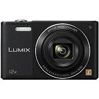 Panasonic Lumix DMC-SZ10EG-K Fotocamera, 16MP, Optical Zoom 12x, Stabilizzatore O.I.S, Wi-Fi Certified, Video HD, Nero