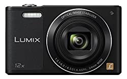 Panasonic Lumix Dmc-sz10eg-k Style-kompakt Digitalkamera (12x Opt. Zoom, 2,7 Zoll Lcd-display Um 180° Schwenkbar,wifi, Hd-videos, Bildstabilisator) Schwarz