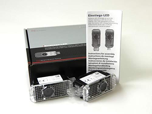 Original Audi LED Einstiegsleuchten Quattro Schriftzug Türbeleuchtung Tuning 4G0052133H
