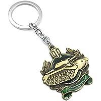 GH Automoción Llavero Medalla Creatividad Metal Colgante Accesorios,Brass