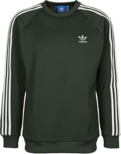 adidas Herren Sst Crew Sweatshirt, Mehrfarbig (Carnoc), L (Crew Sweatshirt)