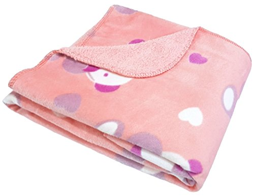 Brandonn Newborn Polka Wrapping Sheet Cum Baby Blanket for Babies / Wrapper For newborn( 75 cm x 98 cm)