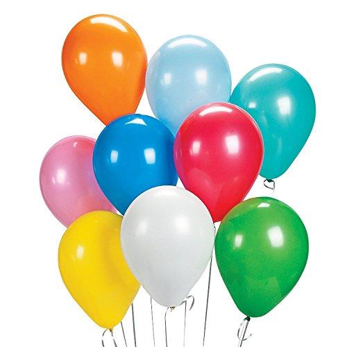 Luftballons Ballon für Hochzeit Party Geburtstag und Kindergeburtstag, 50er pack (50 Geburtstag Kulisse)