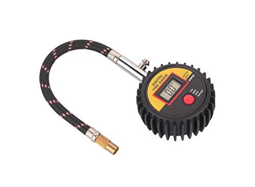 Green House - 1 pcs Manometro digitale per Pneumatici, manometro di pressione per l'auto e moto. Con LED Dispaly e