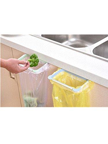 Malloom® Hängende Küche Schrank Tür Trash Rack Style Storage Müllsäcke (rosa) (Pantry-küche-korb)