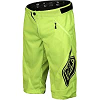 Troy Lee Designs Pantalón Corto MTB Niño Sprint Fluorescent Amarillo (28 = 71Cm Niño, Amarillo)