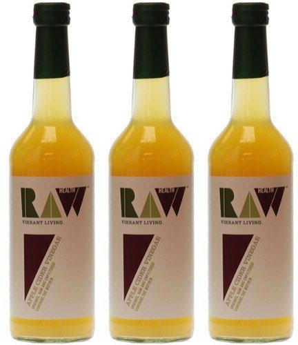 (3 PACK) - Raw Health - Org Apple Cider Vinegar | 500ml | 3 PACK BUNDLE