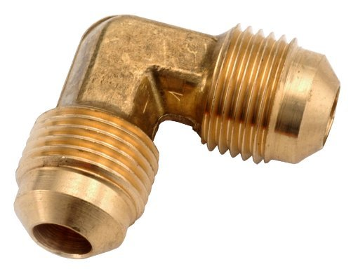 Anderson Metals 754055-06 3/8-Inch Low Lead Flare Elbow, Brass by Anderson Metals -
