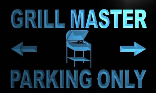 adv-pro-m347-b-grill-master-parking-only-neon-light-sign-barlicht-neonlicht-lichtwerbung