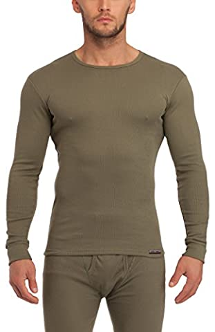 Sesto Senso Maillot ? manches longues - Homme (Olive,