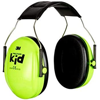 06a86fc28fdee 3M Peltor Kid Earmuffs with Headband, 27 dB, Neon Green – Ear defender with  comfortable wear for children up to 7 years of age - 1x Ear Protector in  neon ...