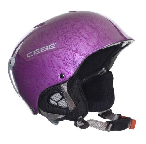 Cebe Uni Skihelm Contest, shiny metallic purple, 58-61+ cm, 117235862