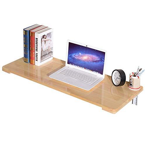 ZYOUXIU Hängender Aufbewahrungstisch/Schreibtisch, zusammenklappbarer Laptop-Ständer, Tischschreibtisch, Küchenregale, Metallhalterung, Lackfarbe, 8 Größen, 90X50 cm