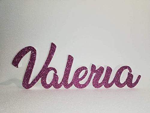 Scritta Personalizzata Nome in Polistirolo tradizionale per eventi, compleanni con larghezza max 50cm altezza 15/20cm profondità 3cm