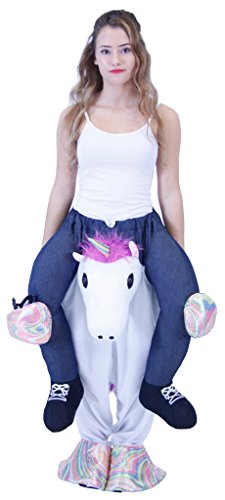 Piggyback Ride On UNICORN Teen Costume (Teen)