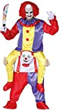 Fancy Me Herren Damen Ride On Step In Killer Clown Halloween Film Buch TV Circus Karneval Kostüm Outfit