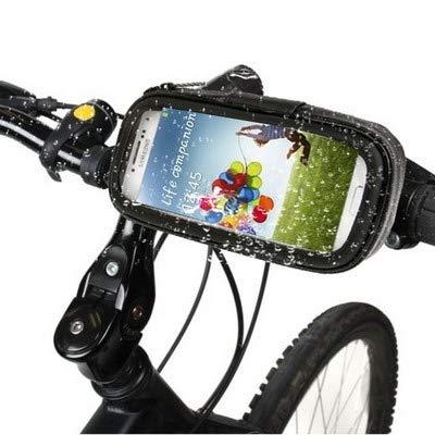 Lanbinxiang@ Support de Bicyclette IPX4 et Couvercle de Protection Contre Le Toucher résistant à l'eau, au Sable, à la Neige et à la poussière pour téléphones Mobiles de 4,7 Pouces sécurité