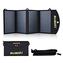 SUAOKI-Cargador-Panel-Solar para kayak