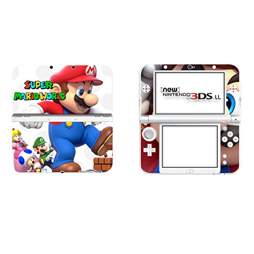 Nintendo New 3DS XL Schutzfolien Set - Super Mario (2) /New 3DS XL