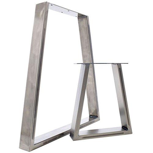 Tisch & Bank-Untersatzbeine: Auffallendes Trapezium-Design