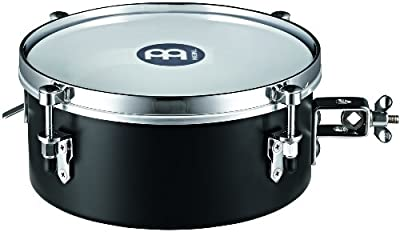 Meinl Percussion MDST10BK - Timbal caja (25,40 cm), color negro