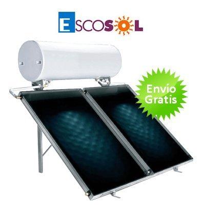 Kit termosifón cubierta plana Escosol BR 300 Slim