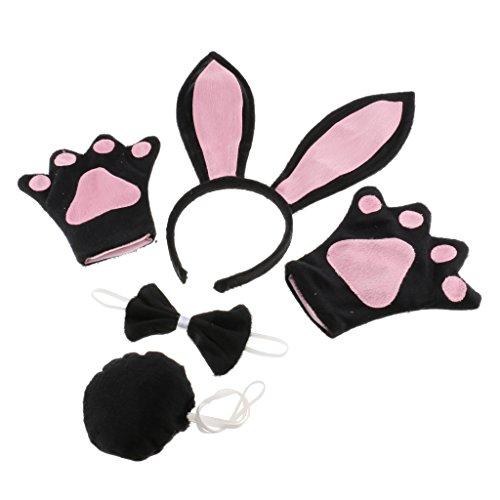Prettyia Kaninchen Kinderkostüm - Hase Kostüm - Tierkostüm
