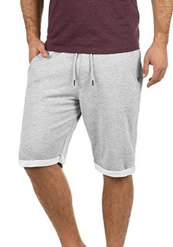 Blend Antique Herren Sweatshorts Kurze Hose Jogginghose Mit Fleece-Innenseite Und Kordel Regular Fit, Größe:L, Farbe:Stone Mix (70813)