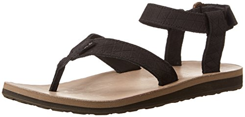 Teva Original Sandal LTR Diam. W's, Sandali sportivi donna, Nero (513 black), 36