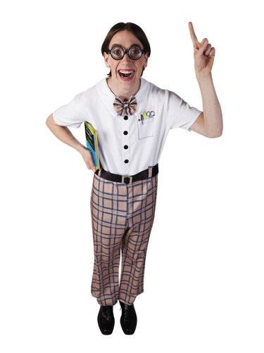 Boland 83602 - Erwachsenen Kostüm Nerd, Größe 50/52, (Kostüme Erwachsene Für Nerd)