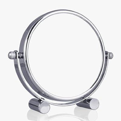 Wunderschöner-Standspiegel-Kosmetikspiegel-Badspiegel-10 FACH Zoom -Chrom Ausführung von Weihu - Spiegel Online Shop