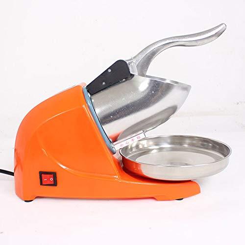 DGYAXIN Picadora de Hielo, Batidos eléctrico Slush Machine Carcasa de Acero Inoxidable Trituradora...