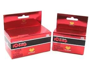 iComp TO40 & TO41 C62 CX3200 Epson Compatible Noir & couleur Cartouche d'encre Twin Pack