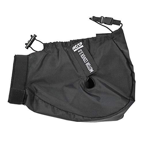 NC-17 Connect Motor Cover 3.0 | Schutzhülle, Motorschutz, Abdeckung, Motorcover für E-Bikes mit Mittelmotor und integriertem Akku | One Size | Farbe Schwarz