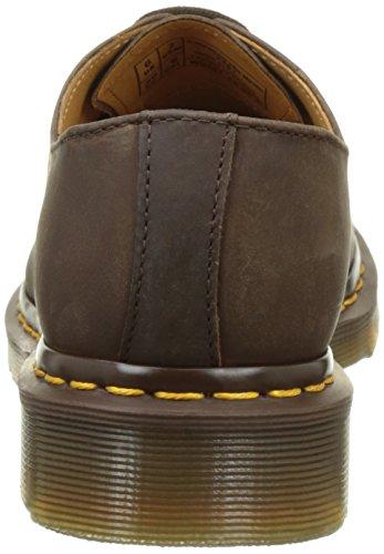 Dr. Martens 1461 Pw, Chaussures de ville mixte adulte Marron (Gaucho Crazy Horse)