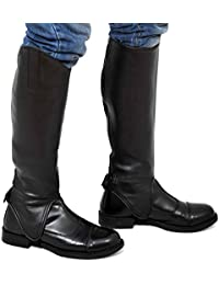 Riders Trend Soft Leather Gaiter -, color marrón, talla Large