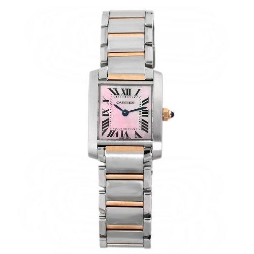 Cartier - Reloj de pulsera mujer, acero inoxidable, color multicolor