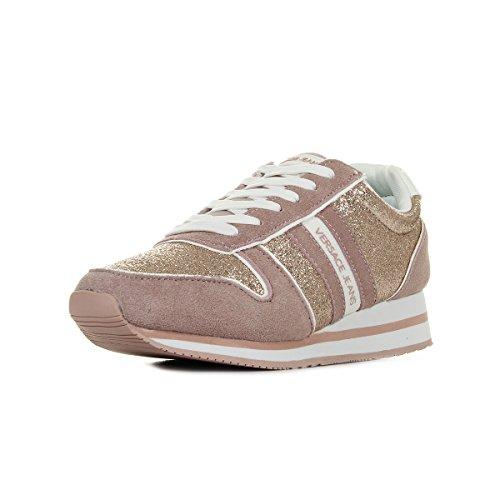 Versace Jeans Linea Fondo Stella Dis1 Suede Coated Shiny Textile E0VRBSA170027521, Basket