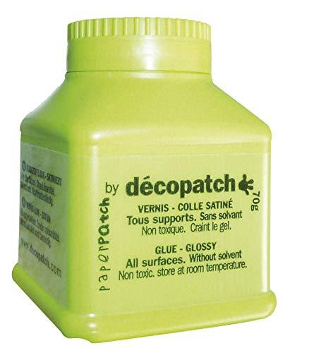 Decopatch Vernis/colle satiné Paperpatch, 70g