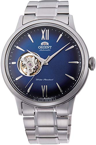 Orient Mens Analogue Automatic Watch with Stainless Steel Strap RA-AG0028L10B