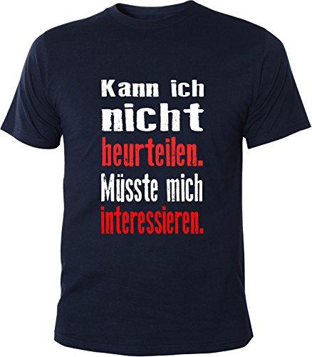 Mister Merchandise Herren Men T-Shirt Kann ich nicht beurteilen. Müsste mich interessieren. Tee Shirt bedruckt Navy