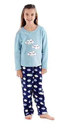 50e6bb8753 Selena Girl - Pijama - para niña Azul Blue Top 5-6 Años