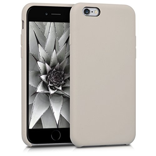 kwmobile Apple iPhone 6 / 6S Hülle - Handyhülle für Apple iPhone 6 / 6S - Handy Case in Taupe