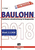 Baulohn 2018: in der betrieblichen Praxis