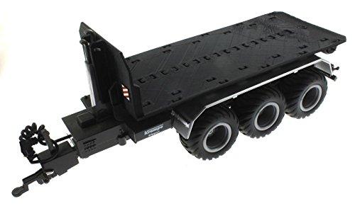 Abroll-Plattform für Siku Control 32 Krampe Hakenlift (6786) (Schwarz)