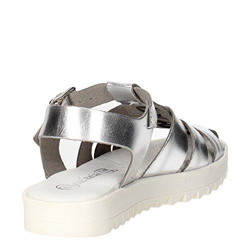 MELANIA ME6123F6E.C Sandale Fille Argent