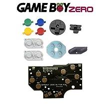 [GAMEBOY ZERO] Set version 4 boutons + conducteurs (couleurs SNES) + PCB