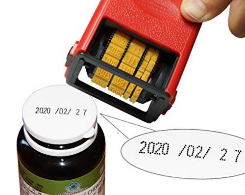 KUNHEWUHUA tragbarer Datumscodierungsdrucker & Handheld Smart Date-Drucker & Handheld Smart Date-Coder für Metall-Kunststoffpapier etc.