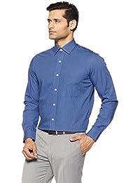 Arrow Men's Checkered Regular Fit Cotton Formal Shirt